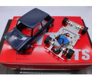 TTS A112 Abarth Kit Bleue Complet - châssis préassemblé