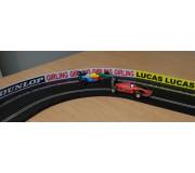Slot Track Scenics Panneaux Publicitaires Classiques 4 (P) (Clips pour plastique)