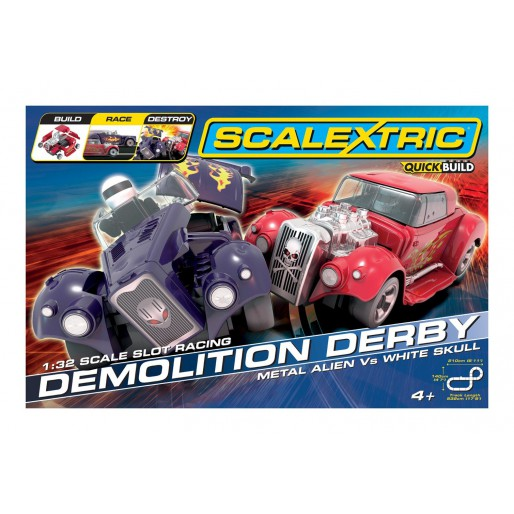 Scalextric Coffret Demolition Derby