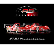 RevoSlot RS0060 Ferrari 333 SP - Twin pack Presentation Box