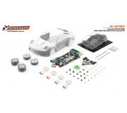 Scaleauto SC-7047RC2 Porsche 991 GT3 RSR White Body Racing Kit with Chassis R4