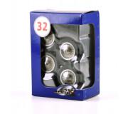 LE MANS miniatures Jeu de 4 roues à rayons Bugatti 57G & C & 59 (arrière seulement)