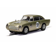 Scalextric C4166 Aston Martin DB5 - White Gold - AMOC Brands Hatch 2019