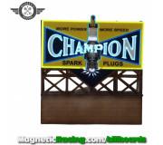 Magnetic Racing 026 Champion Billboard FLASHING