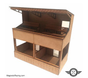 Magnetic Racing 005d Two Tier Pit Building