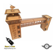 Magnetic Racing 006 Control Tower and Crosswalk