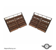 Magnetic Racing 012 Small Spectators Stand (Pair)