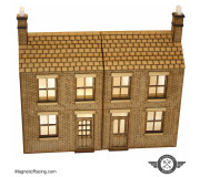 Magnetic Racing 024 Terraced House (Ultra Low Relief)