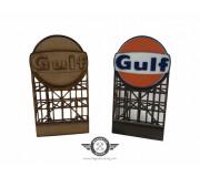 Magnetic Racing BILL001 Gulf Billboard KIT (unpainted/painted)