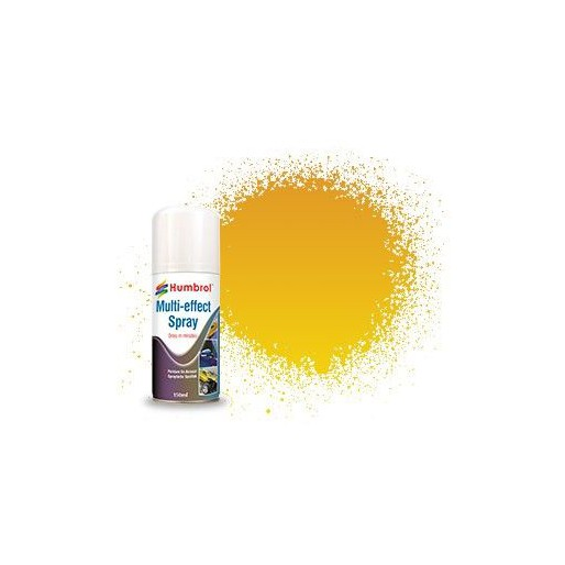 Humbrol AD6211 Gold Multi-Effect Spray - 150ml Acrylic Spray Paint
