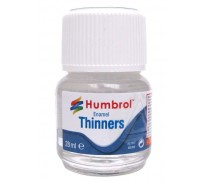Humbrol AC7501 Enamel Thinners - 28ml Bottle