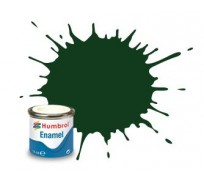 Humbrol AA0031 No. 3 Brunswick Green Gloss - 14ml Enamel Paint