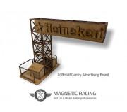 Magnetic Racing 038 Half Gantry Advertising Board