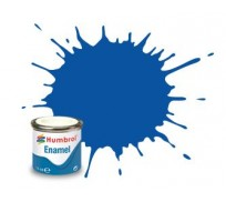 Humbrol AA0151 No. 14 Bleu de France Brillant - 14ml Peinture Enamel