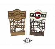 Magnetic Racing BILL006 Martini Billboard KIT (unpainted/painted)