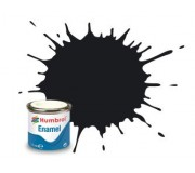 Humbrol AA0237 No. 21 Black Gloss - 14ml Enamel Paint