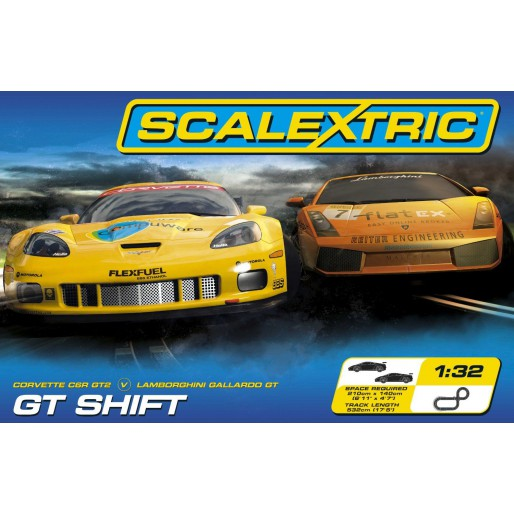 Scalextric Coffret GT Shift