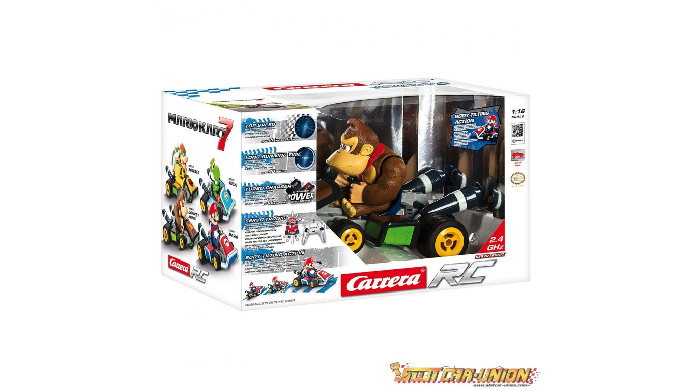 Carrera rc mario kart 7 donkey kong slot car union - Voiture mario kart 7 ...