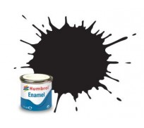 Humbrol AA0360 No. 33 Noir Mat - 14ml Peinture Enamel