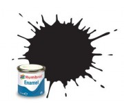 Humbrol AA0360 No. 33 Black Matt - 14ml Enamel Paint