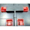Carrera 85205 Clips Métalliques pour Extension Multivoies x25