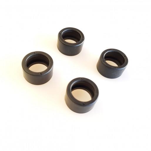 "SRC RN0118 Rear tires ""BLACK PAT"" MAX 52 (17.6 x 10.3)"