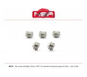 "NSR 4879 Set screw ultralight - 0.50"" - for standard slotracing gears & tires (5 pcs)"