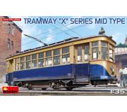 """MiniArt 38026 Tramway """"X"""" Series Mid Type"""