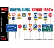MiniArt 35631 Traffic Signs Kuwait 1990's