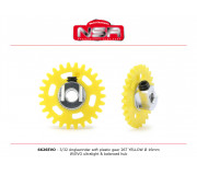NSR 6626EVO 3/32 Plastic Gear with aluminium hub - 26 Teeth Ø 16mm - Anglewinder 15°