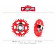 NSR 6631EVO 3/32 Plastic Gear with aluminium hub - 31 Teeth Ø 16mm - Anglewinder 15°