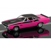 Scalextric C3537 Dodge Challenger T/A, Panther Pink