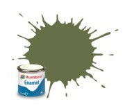Humbrol AA0881 No. 80 Grass Green Matt - 14ml Enamel Paint