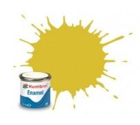 Humbrol AA0895 No. 81 Pale Yellow Matt - 14ml Enamel Paint