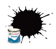 Humbrol AA0936 No.85 Coal Black Satin - 14ml Enamel Paint