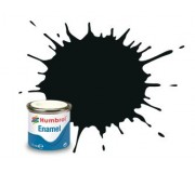 Humbrol AA1002 No. 91 Black Green Matt - 14ml Enamel Paint
