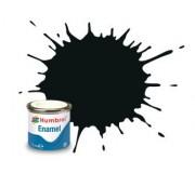 Humbrol AA1002 No. 91 Black Green Matt - 14ml Enamel Paint