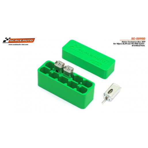 Scaleauto SC-5090D 3DP Box for SLIM FK-050. 10 units. Measurements: 87x32x51mm