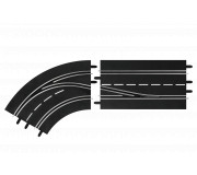 Carrera DIGITAL 30362 Lane Change Left Curve, In to Out