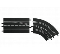 Carrera DIGITAL 30365 Lane Change Right Curve, Out to In