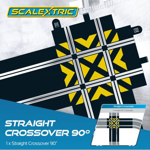 Scalextric C8210 Croisement en Ligne Droite