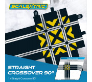 Scalextric C8210 Straight Crossover