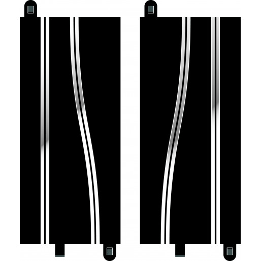 Scalextric C8246 Side Swipe Straights (2 pcs)