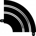 Scalextric C8201 Courbe Hairpin Radius 1 90°