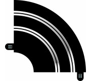 Scalextric C8201 Courbe Hairpin Radius 1 90° (1 pc)