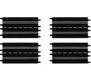 Carrera 20509 Standard Straight (4 pcs)