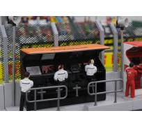 Slot Track Scenics TS/Dec. 9 Decals Timing Stand – McLaren Honda