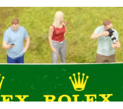 Slot Track Scenics 1/43 Fig. 4 - Standing spectators Set A