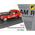Pioneer P112 1968 Trans-Am Mustang, 'Jim West' Red n.5