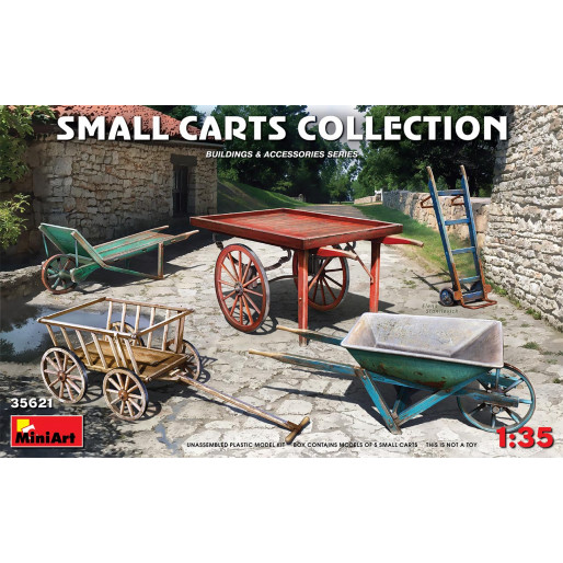 MiniArt 35621 Collection Petits Chariots